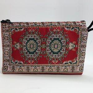TRADITIONAL TURKISH WALLETS FABRIC WOVEN  ZIP BAG